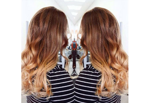 ombre, fall trend, low maintenance
