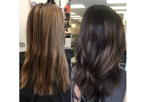 Double Dimension, highlights, balayage