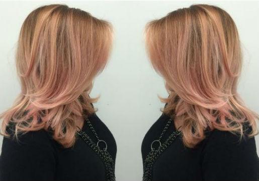 rose gold, blonde, trendy, fall